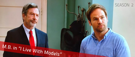 Michael Brandon will appear in Season 2 of I Live With Models